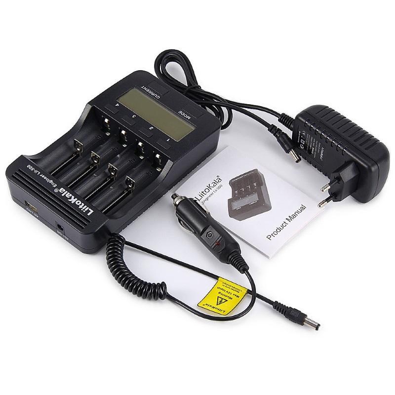 Инструкция для зарядного устройства Liitokala Lii-500