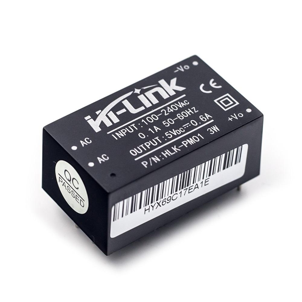 HI-LINK Преобразователь AC-DC HLK-PM01 5В 3Вт HI-LINK