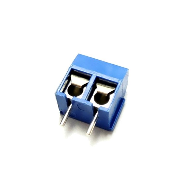PCB Клемма двойная под винт KF301-2P (шаг 5.08мм) PCB