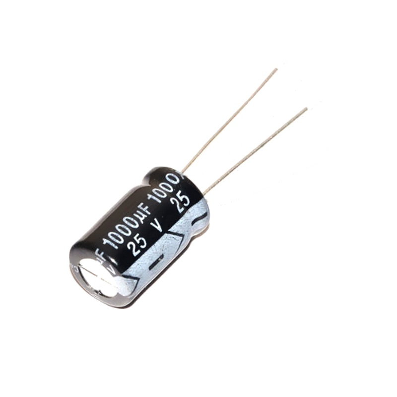 VENT Конденсатор 1000 мкФ 25 В (электролитический)