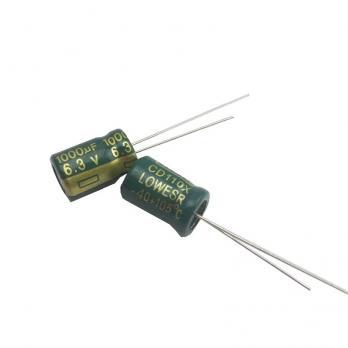 VENT Конденсатор 1000 мкФ 6.3 В (электролитический)