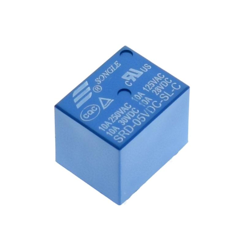 Songle Реле Songle SRD-05VDC-SL-C электромеханическое 5В/250В