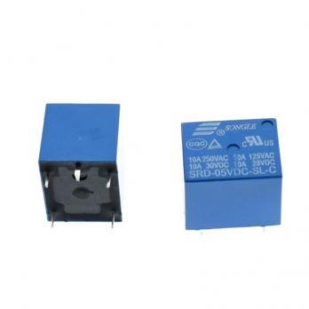 Реле Songle SRD-05VDC-SL-C электромеханическое 5В/250В