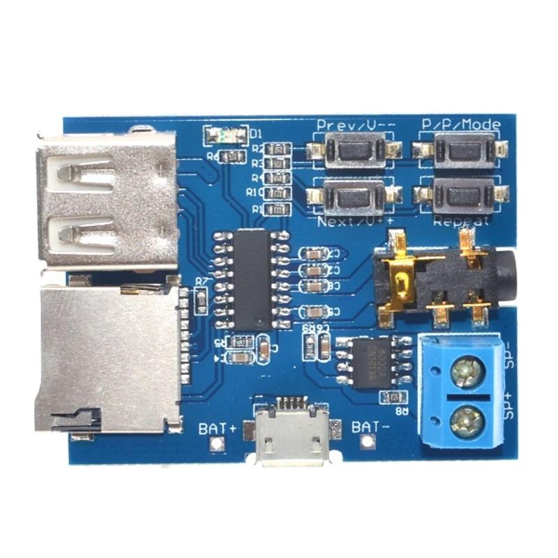 Модуль MP3 GPD2856C TZT