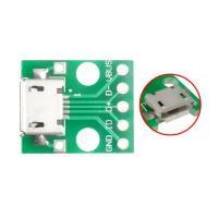 FEIYANG MicroUSB DIP адаптер МАМА (разъем на  плате) 5 PIN