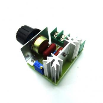 Диммер 220 Вольт 2000 Ватт (симисторный регулятор мощности напряжения) StepDown