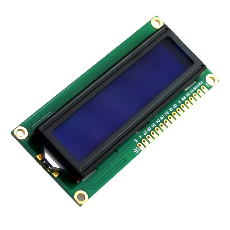 TZT Дисплей символьный LCD1602 синяя подсветка TZT