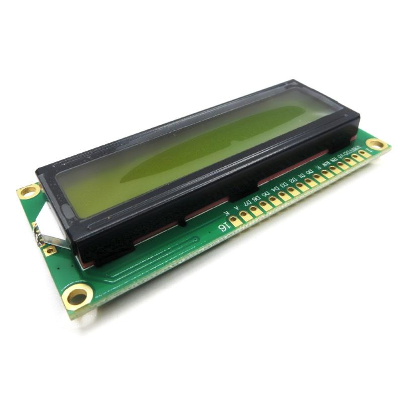 TZT Дисплей символьный LCD1602 зеленая подсветка TZT