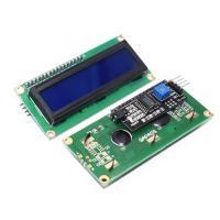 TZT Дисплей LCD1602 синий в сборе с I2C адаптером TZT