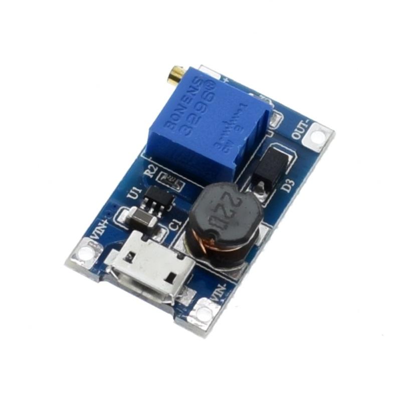 Boost BOOST MT3608 DC-DC повышающий с MICRO USB