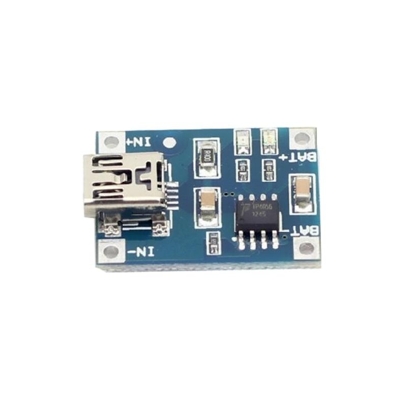 TZT TP4056 модуль заряда аккумуляторов 18650 с MiniUSB TZT