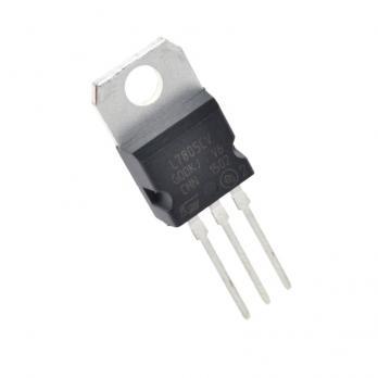 STM Стабилизатор напряжения LM7805 (L7805CV, 5В, 1.5А) STM