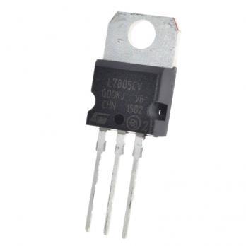 Стабилизатор напряжения LM7805 (L7805CV, 5В, 1.5А) STM