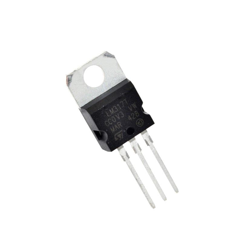 STM Стабилизатор напряжения LM317T регулируемый (1.2-37В, 1.5А)