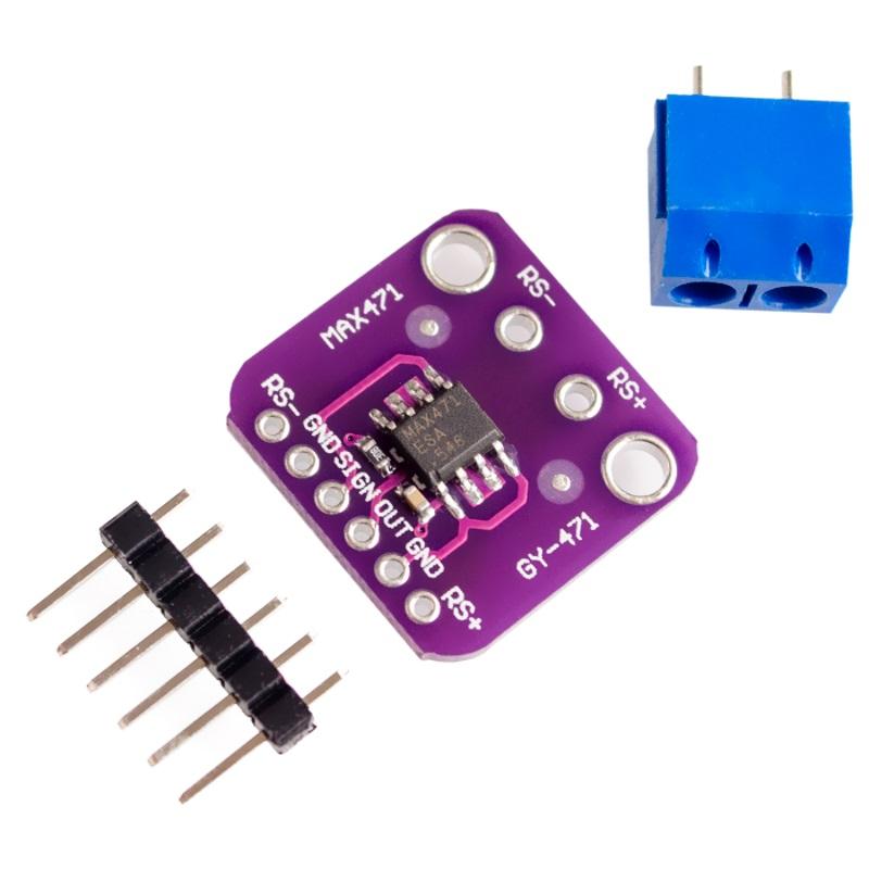 TZT Датчик тока и напряжения GY-471 (MAX471) TZT