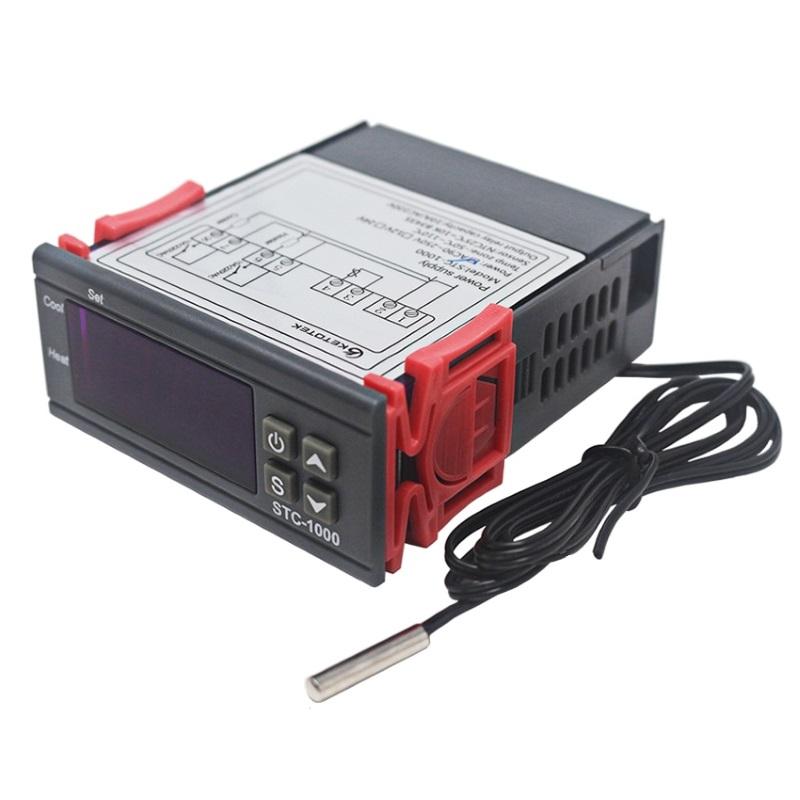 KETOTEK STC-1000-220V Термореле (терморегулятор программируемый) на 2 канала KETOTEK