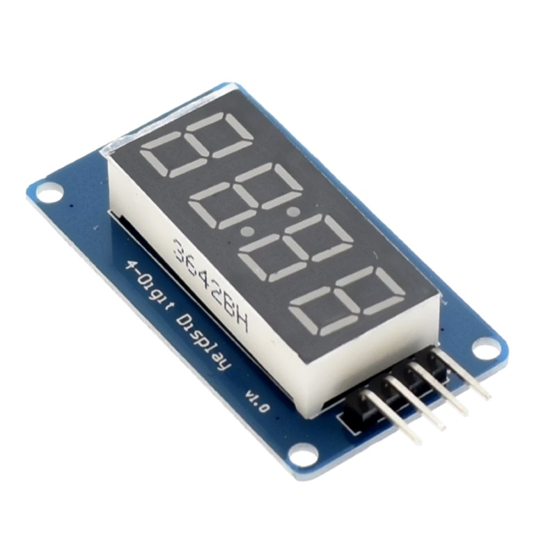 TZT 4-х разрядный модуль дисплея TM1637 TZT
