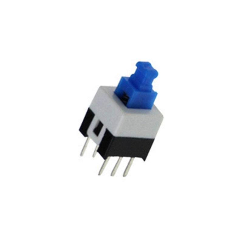 TZT Кнопка 7х7 с фиксацией (PB-22E27, PS700L)