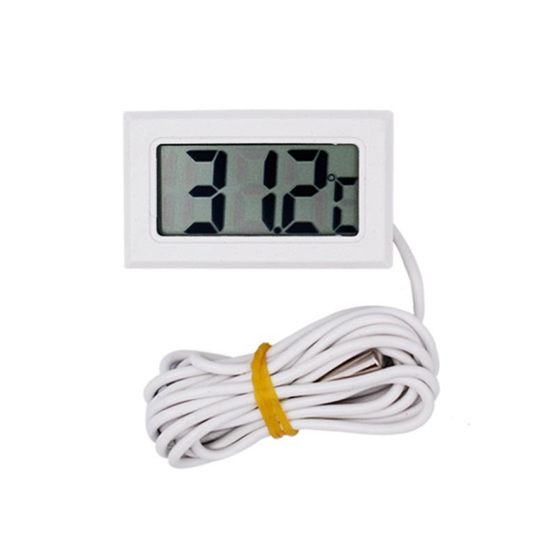 NTC Термометр цифровой Digital LCD T115 белый с выносным датчиком NTC