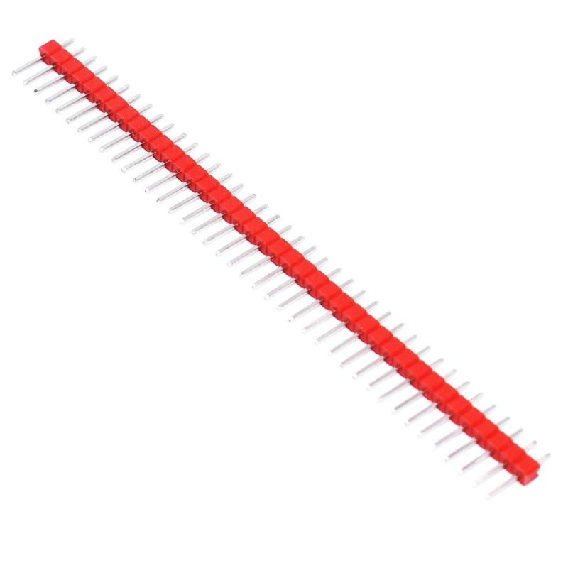 Tenstar Robot Вилка штыревая PLS-40 (DS1021-1x40) красная