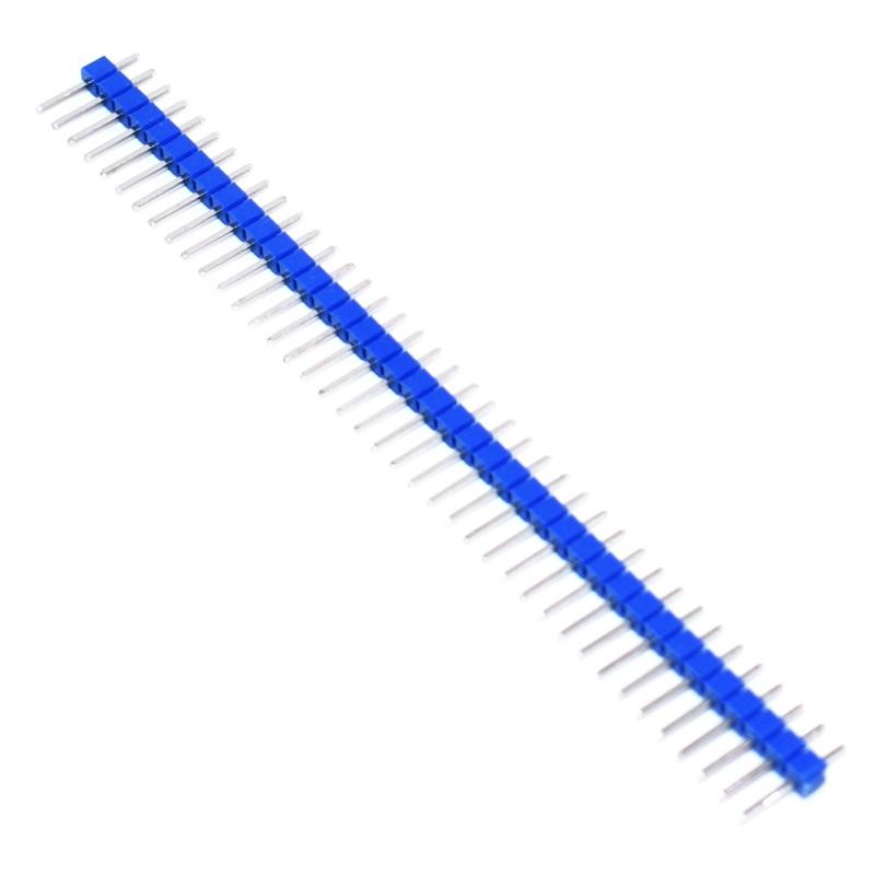 Tenstar Robot Вилка штыревая PLS-40 (DS1021-1x40) синяя
