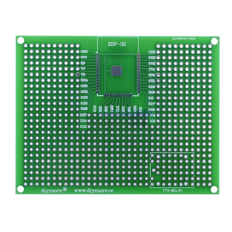 Макетная плата для ESP-12/ESP-32 7x9 см DIY MORE