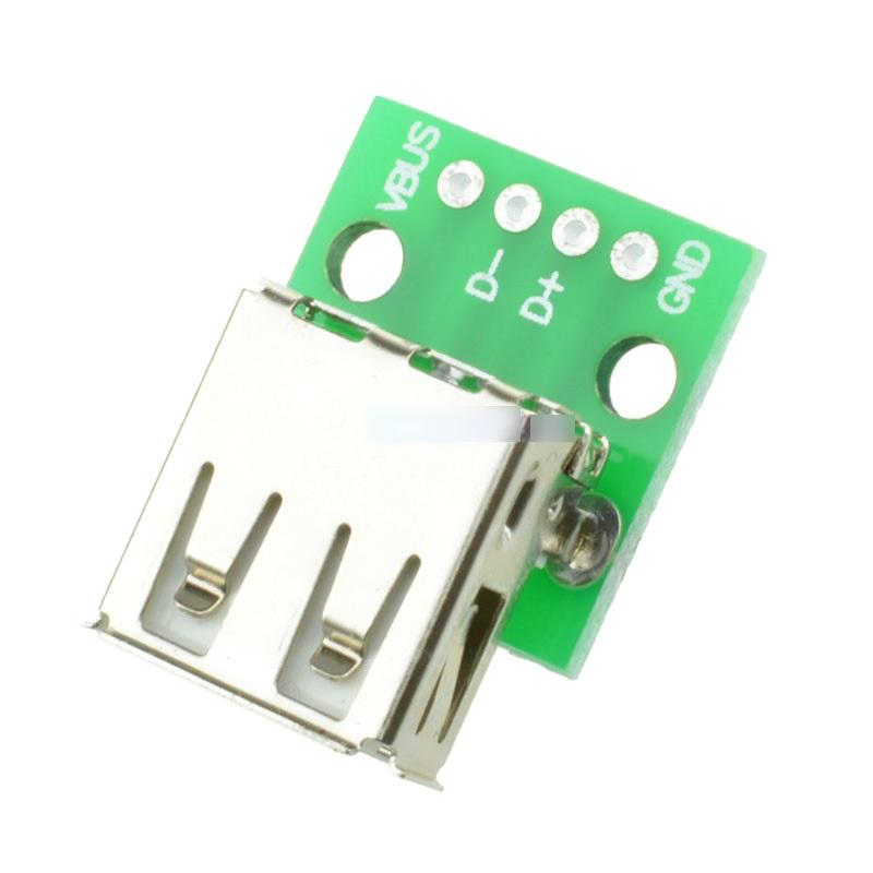 FEIYANG USB DIP адаптер МАМА (разъем на  плате) 4 PIN