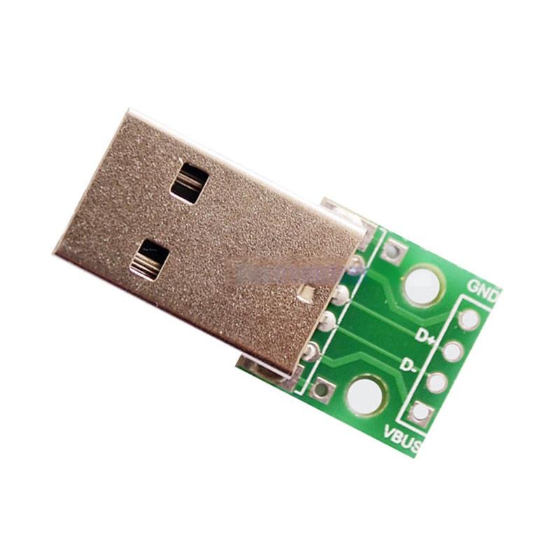 FEIYANG USB DIP адаптер ПАПА (разъем на  плате) 4 PIN