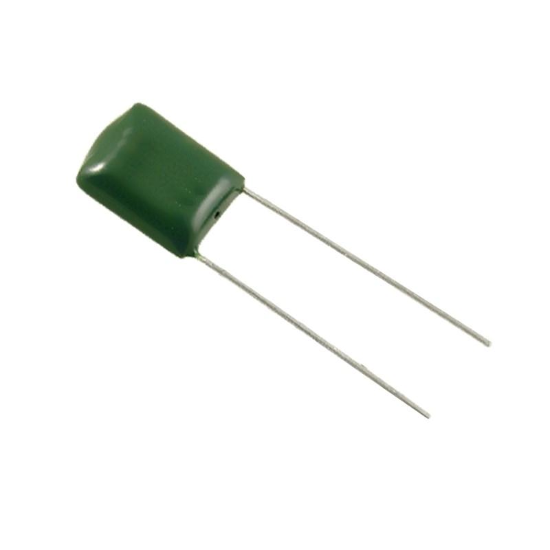 СЗТП Конденсатор 0.1 мкФ 100 В (2A104J, металлопленочный)
