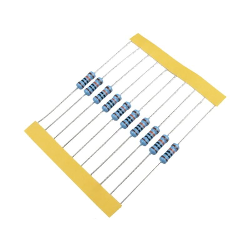 MCIGICM Резисторы 560 Ом 0.25 Вт (набор 10 шт)