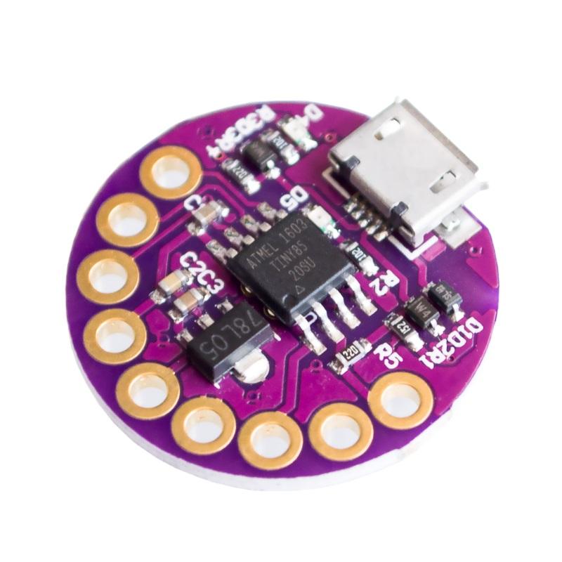 LilyPad TinyPad ATTINY85 ATmel