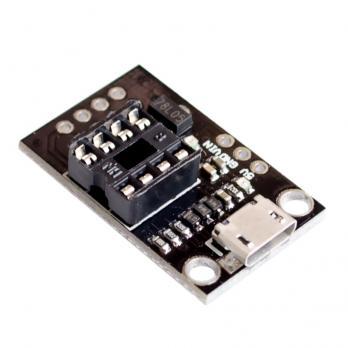 Программатор ATtiny85 ATmel (13A, 25, 45, 85) MicroUSB