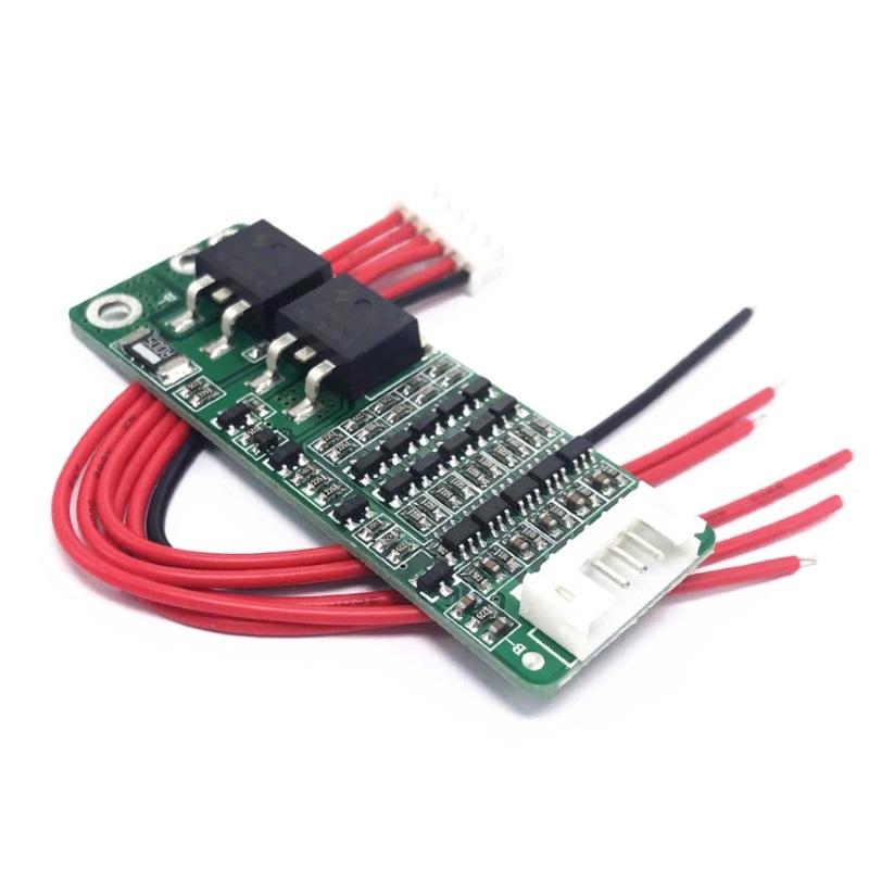 Балансировочная плата 5-и аккумуляторов 18650 (BMS-5S-18V-21V-1 5A)  BMS
