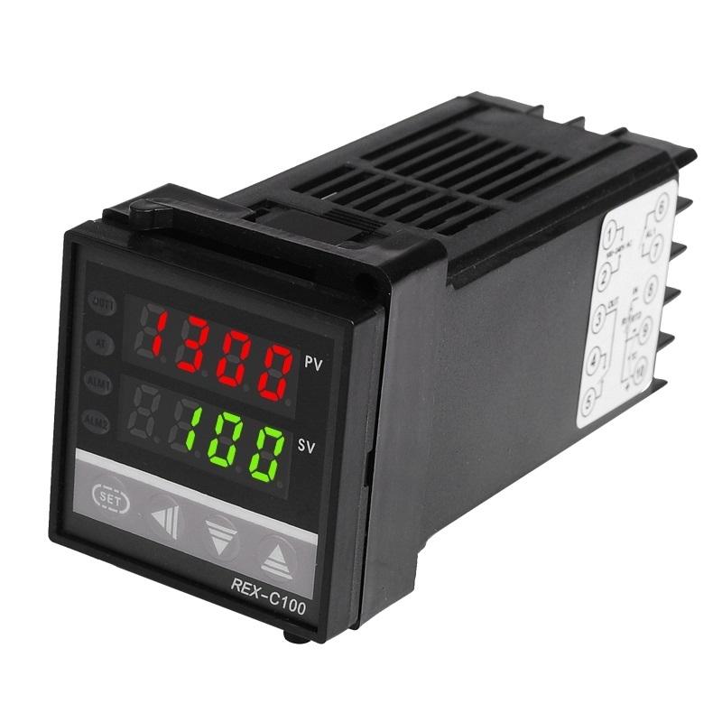 KETOTEK REX-C100 ПИД-контроллер (0-400 °C, REX-C100FK02-V*AN) KETOTEK