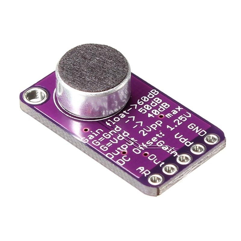 TZT Микрофонный усилитель MAX9814 с АРУ TZT