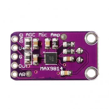 Микрофонный усилитель MAX9814 с АРУ TZT