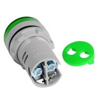 Вольтметр AC 60-500V (AD16-22DSV) зеленый Sinotimer
