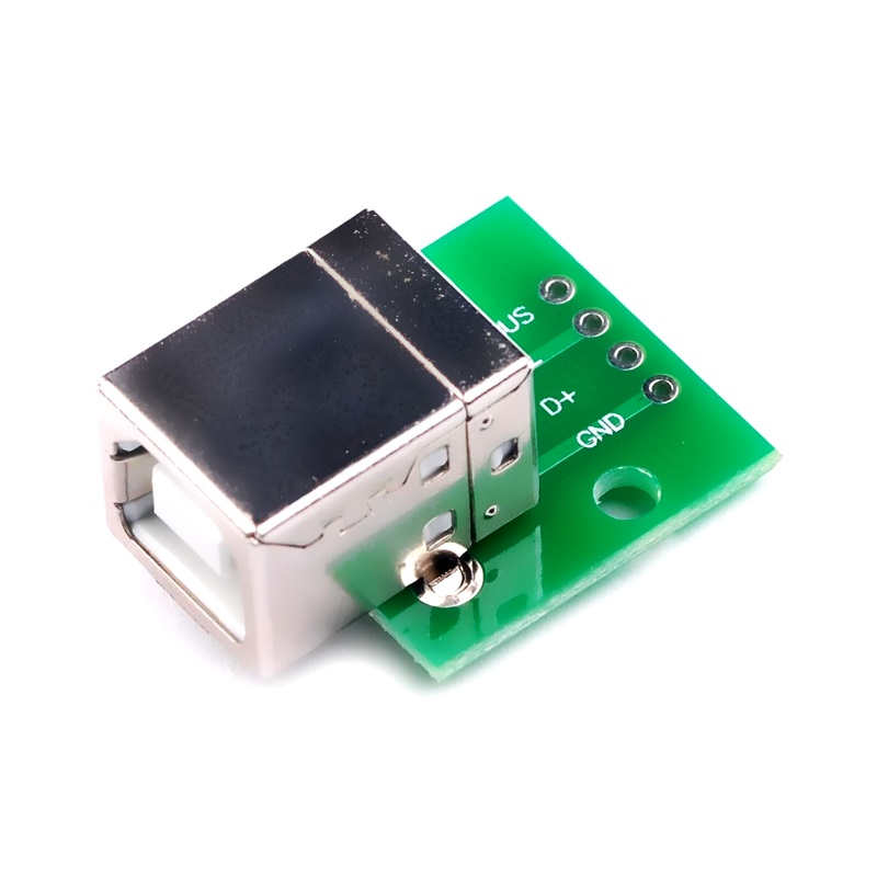 FEIYANG USB Type-B DIP адаптер МАМА (разъем на  плате) 4 PIN