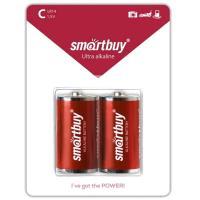 SMARTBUY Батарейка алкалиновая Smartbuy LR14, тип C, A343 (упаковка 2 шт)
