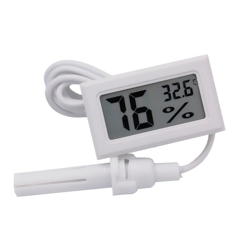 NTC Гигрометр цифровой (влажность, температура) H215WH белый с выносным датчиком NTC