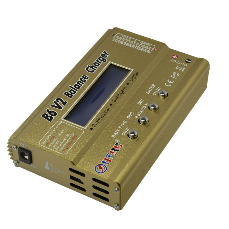 HTRC HTRC iMAX B6 V2 80W (новая версия) универсальное зарядное устройство