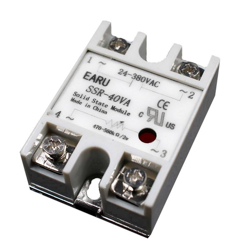 Твердотельное реле SSR-40VA EARU (FOTEK compatible)