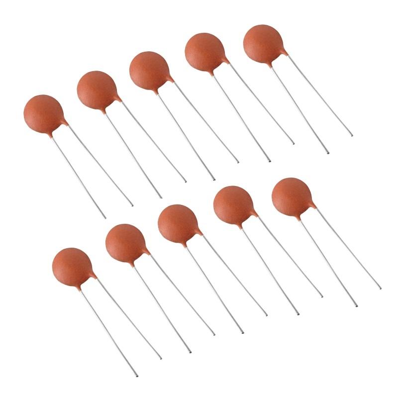 SEP Конденсаторы керамические 100 нФ (104, 100NF, набор 10 шт) SEP