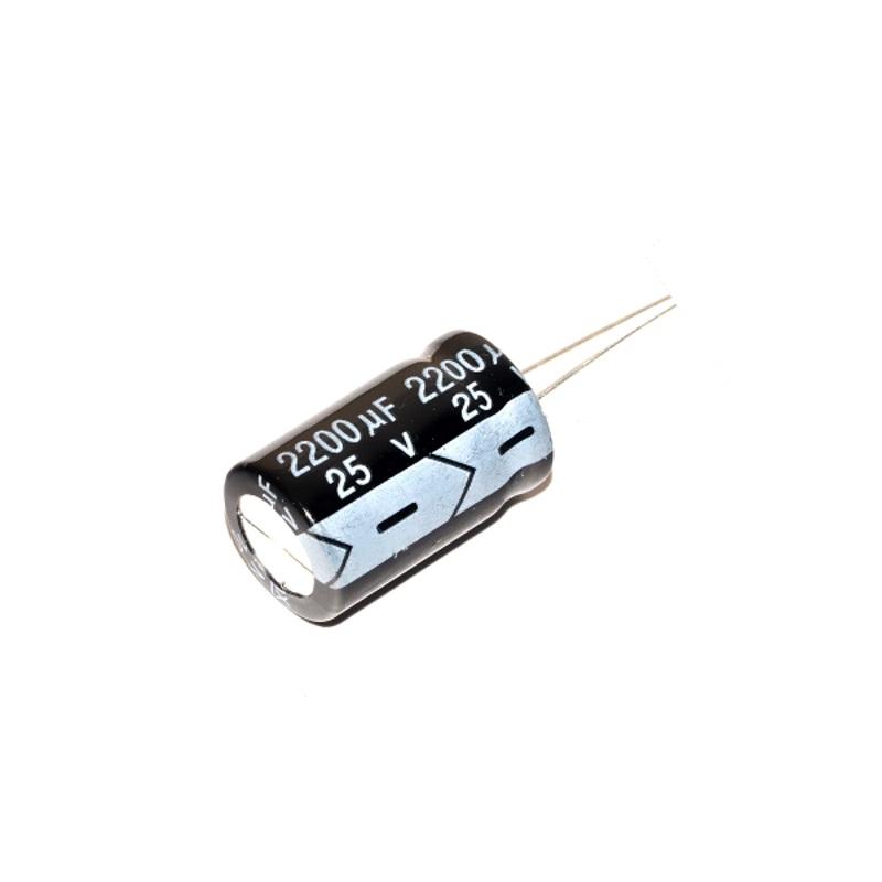 Конденсатор 2200 мкФ 25 В (электролитический )
