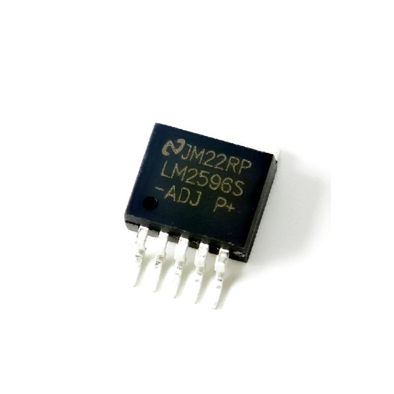 Микросхема LM2596S-ADJ AMS