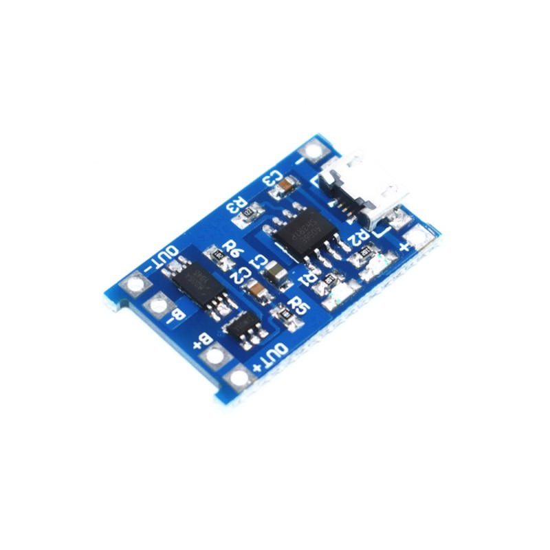 TP4056 модуль заряда аккумуляторов 18650 с защитой TZT