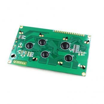 Дисплей символьный LCD2004 зеленая подсветка TZT