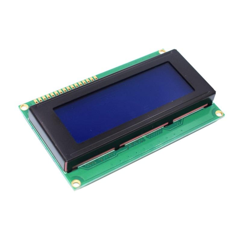 Дисплей символьный LCD2004 синяя подсветка TZT
