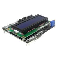 Дисплей LCD1602 синий с кнопками (шилд для Uno) TZT