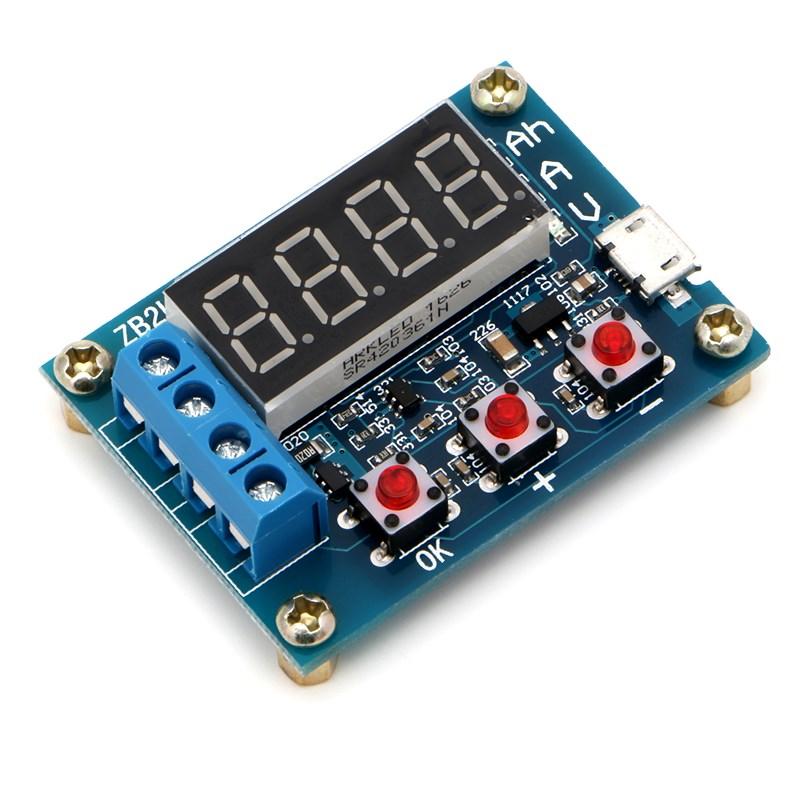 Тестер аккумуляторных батарей ZB2L3 (0-15V, 3A, 9999Ah) TZT